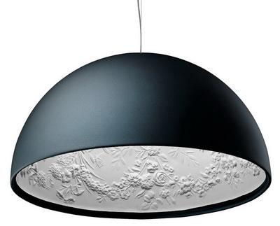 Подвесной дизайнерский светильник Skygarden black 42cm