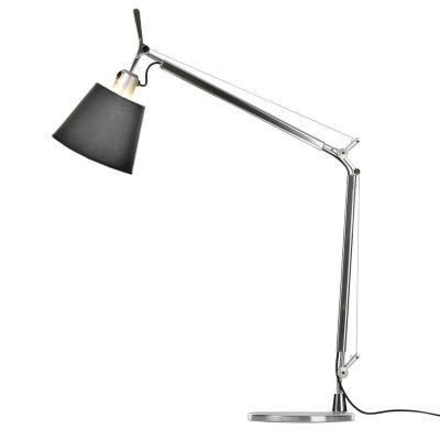 Дизайнерская настольная лампаTolomeo black/chrome