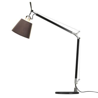 Дизайнерская настольная лампаTolomeo brown/matte