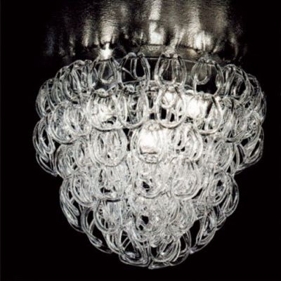 Дизайнерский потолочный светильник Vistosi Giogali 50cm glassy