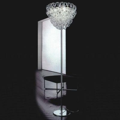 Дизайнерский напольный торшер Vistosi Giogali glassy
