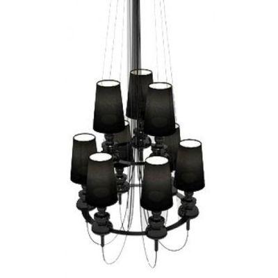 Дизайнерская люстра Josephine black 6x3 плафонов бра josephine 5d 37 x 58 прозрачный