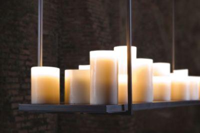 Дизайнерский подвесной светильник LED фонарь maglite led светодиод 2d синий 25 см в картонной коробке 947233