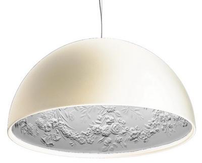 Подвесной дизайнерский светильник Skygarden white 42cm