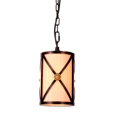 Подвесной светильник с тканевым абажуром Artevaluce artevaluce светильник подвесной cage filament 15х24 см