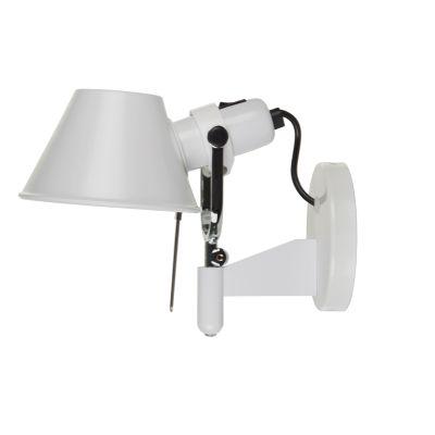 Дизайнерский настенный светильник-бра Tolomeo Faretto white