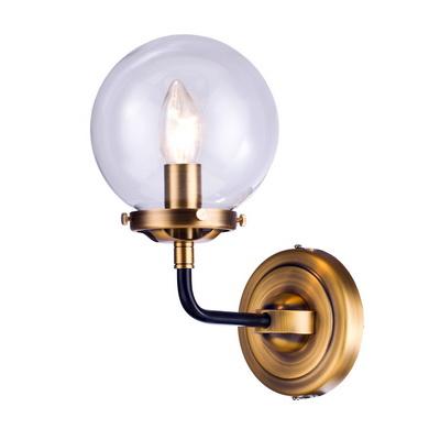 Дизайнерский настенный светильни-брак, бронза