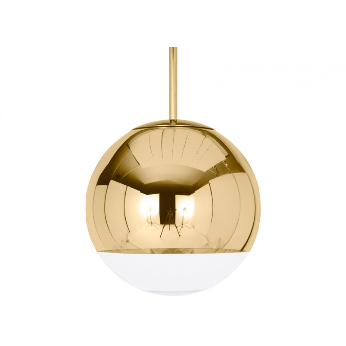 Дизайнерский подвесной светильник Mirror Ball gold