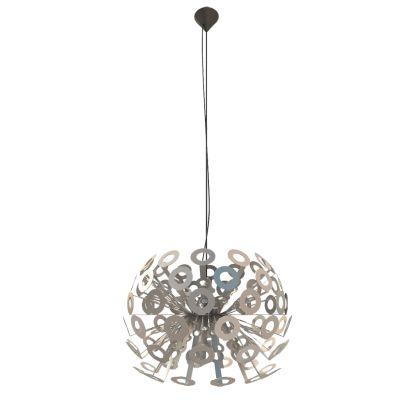 Дизайнерский подвесной светильник Moooi Dandelion 50cm silver crystal light светильник подвесной moooi dandelion цвет серебряный 80х200 см