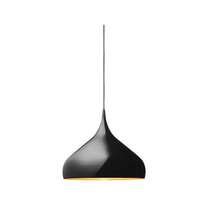 Дизайнерская подвесная люстра Spinning Light 35cm black
