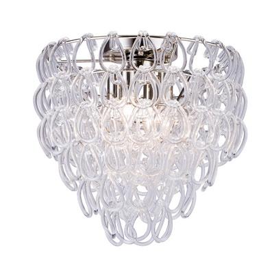 Дизайнерский потолочный светильник Vistosi Giogali 40cm glassy