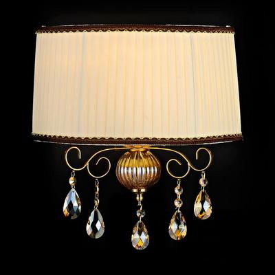 Настенный дизайнерский светильник-бра люстра с тканевым абажуром artevaluce