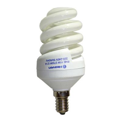 Энергосберегающая лампа Спираль 11W E14 2700K