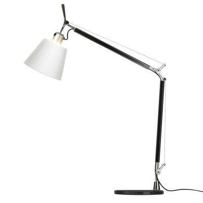 Дизайнерская настольная лампа Tolomeo white/black
