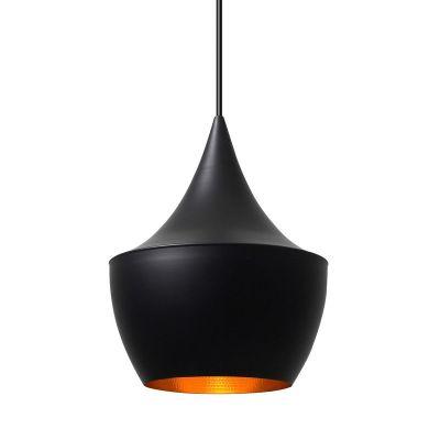 Дизайнерский подвесной светильник Beat Light Fat black