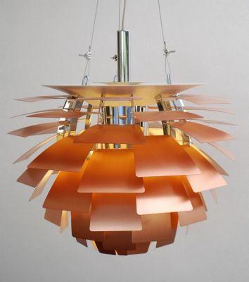где купить Дизайнерская подвесная люстра Artichoke 60cm gold по лучшей цене