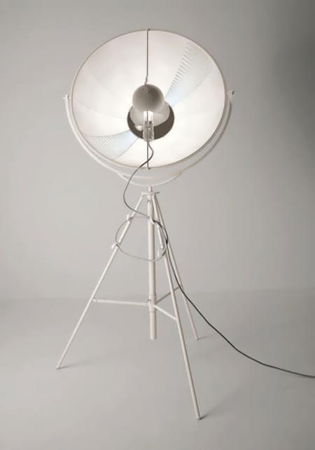 Дизайнерский напольный торшер Pallucco Fortuny white от Arteva Home