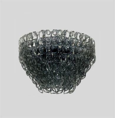 Дизайнерский потолочный светильник Vistosi Giogali 50cm black