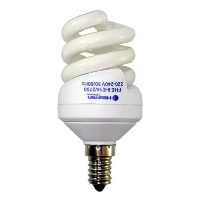 Энергосберегающая лампа Спираль 9W E14 6400K