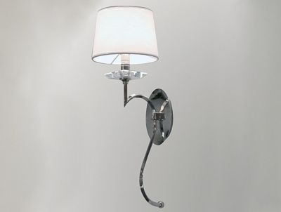 Настенный светильник-бра с тканевым абажуром Artevaluce