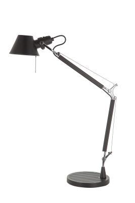 Дизайнерская настольная лампа Tolomeo Table Midi black/matte