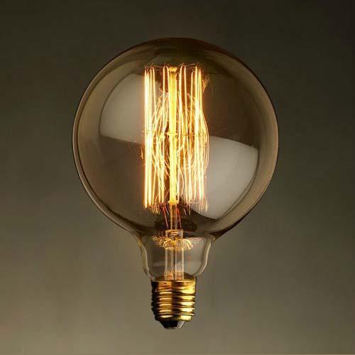 Ретро-лампа Эдисона G125 40W от Arteva Home
